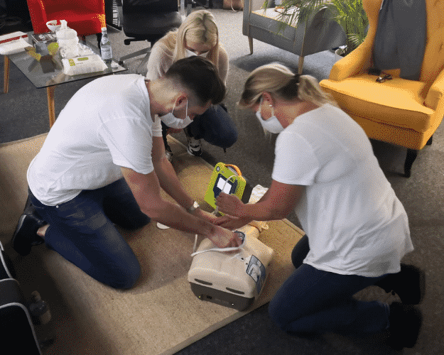 Impressionen: Erste-Hilfe-Kurse