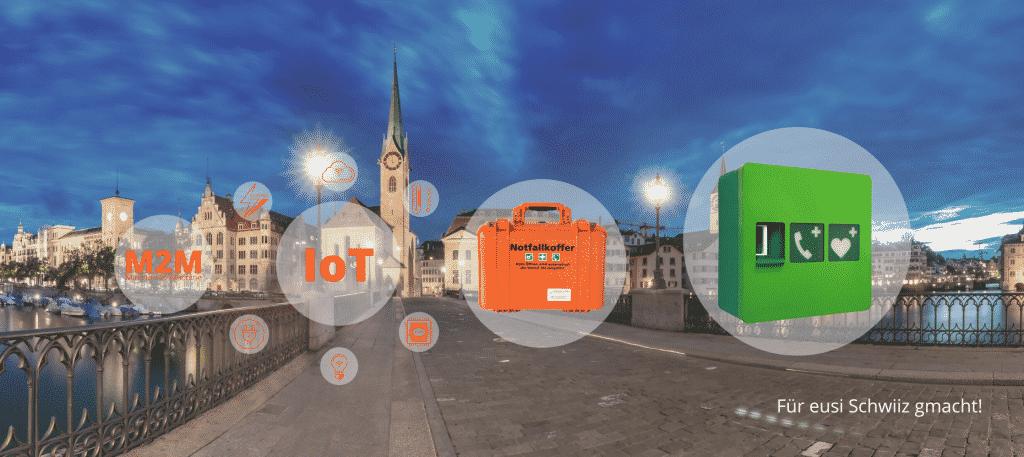Für eusi Schwiiz gmacht - IoT Schweiz M2M